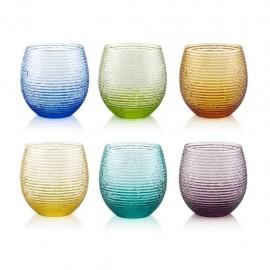 MULTICOLOR bicchiere acqua