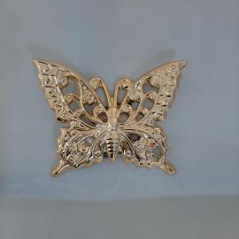 Farfalla cromo oro